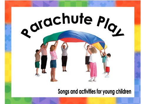 Book of ideas for songs to use when playing with the parachute. Ideal for early years and children with SEN.