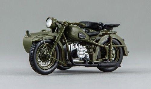 1 43 • M 72 Sovier Motorcycle • Resin • RARE • Dnepr CJ 750 • Russian BMW R71 | eBay