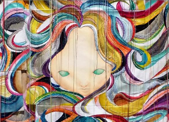 okadamariko painting stitch