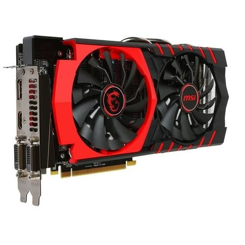 Irk store - placa de video msi radeon r9 380 4gb ddr5 256bits - r$1068,57