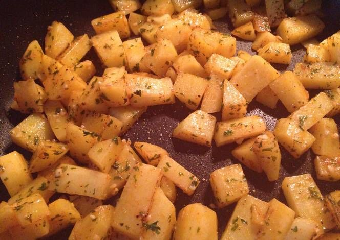 Pan Fried Red Potatoes Recipe Yummy This Dish Is Very Delicous Let S Make Pan
