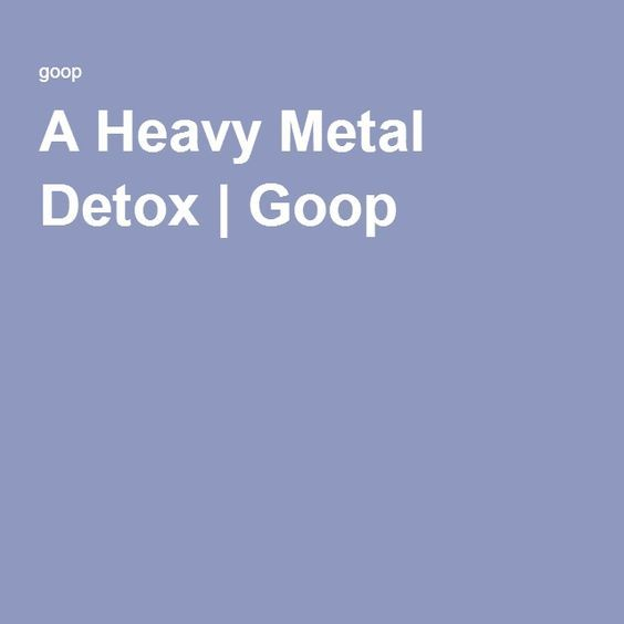 A Heavy Metal Detox   Medical Medium Are Toxic Heavy Metals Ruining Your Life? by Anthony William