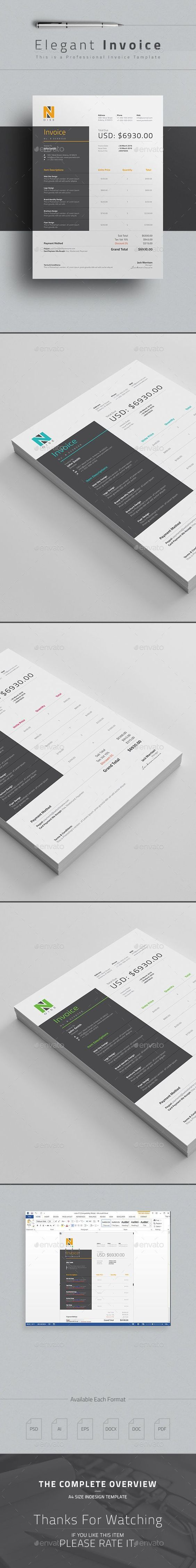 Best Invoices Images On   Proposal Templates Invoice
