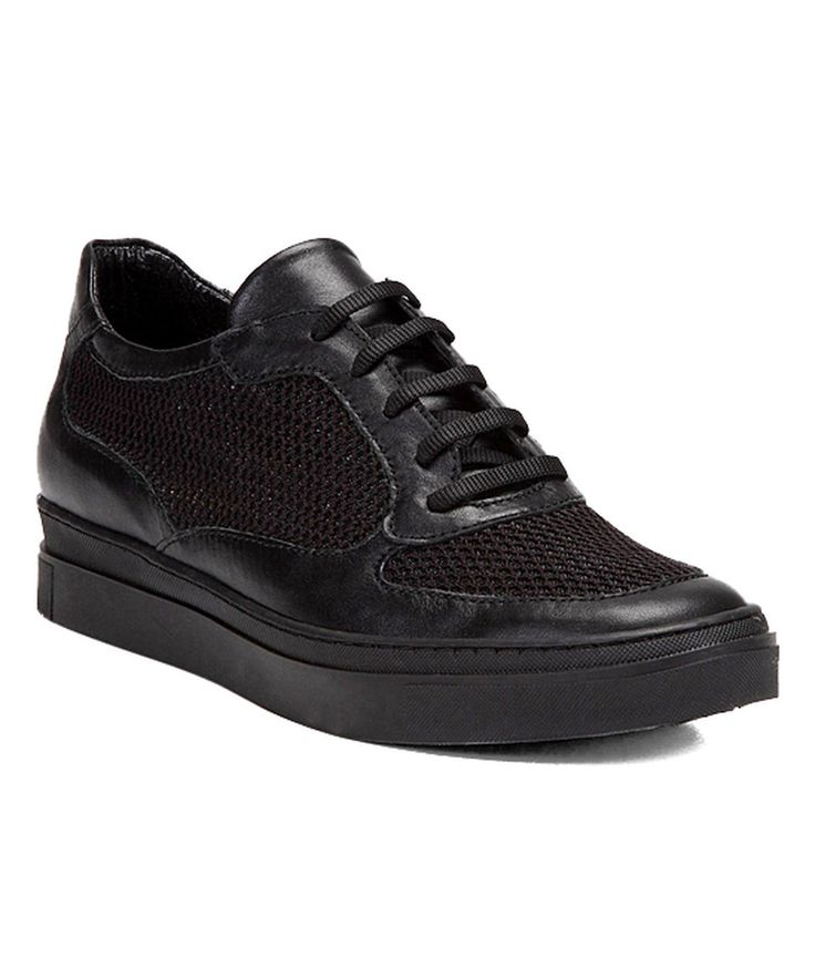 Take a look at this YAYA by Hotiç Black Leather Sneaker today!