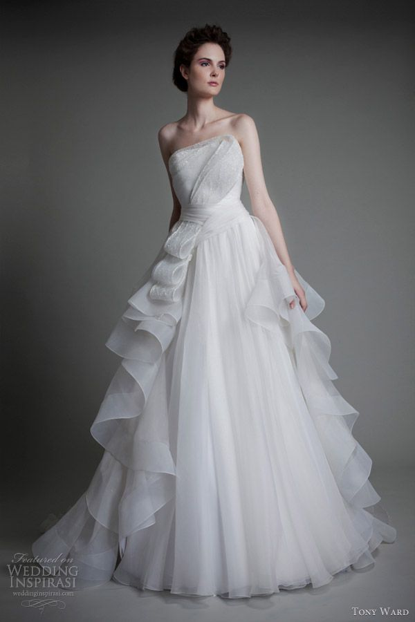 GORGEOUS WEDDING GOWNS 2013 &14 | tony ward wedding dresses 2013 roses de neige gown