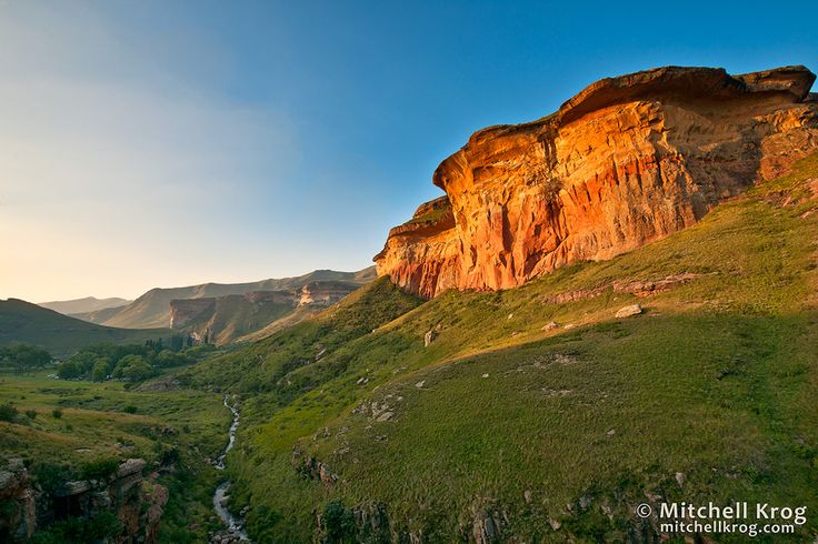 Photo / Golden Gate National Park - Clarens, Free State, South Africa - http://mitchellkrog.com/landscape-photography/photo-golden-gate-national-park-clarens-free-state-south-africa/