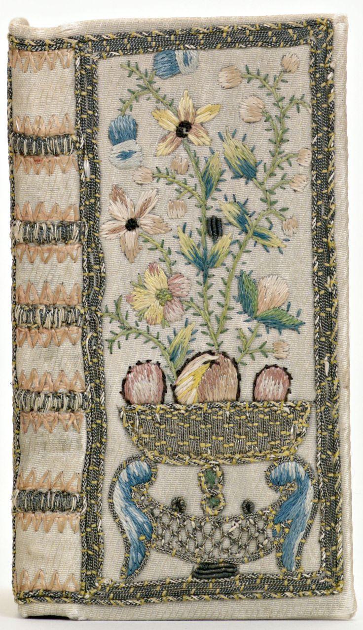 Band van witte zijde, 1750-1800.