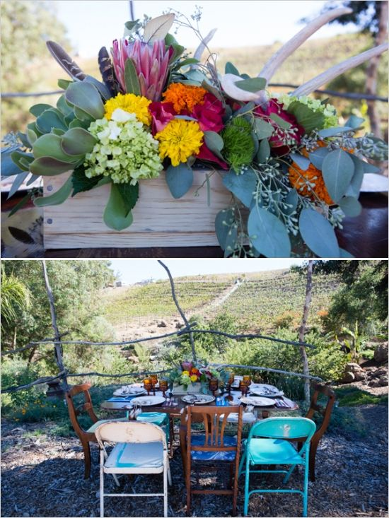 25 Cute Wedding Table Setup Ideas On Pinterest