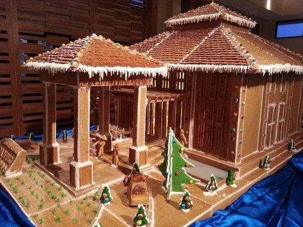 202 Best Gingerbread & Candy Houses Images On Pinterest