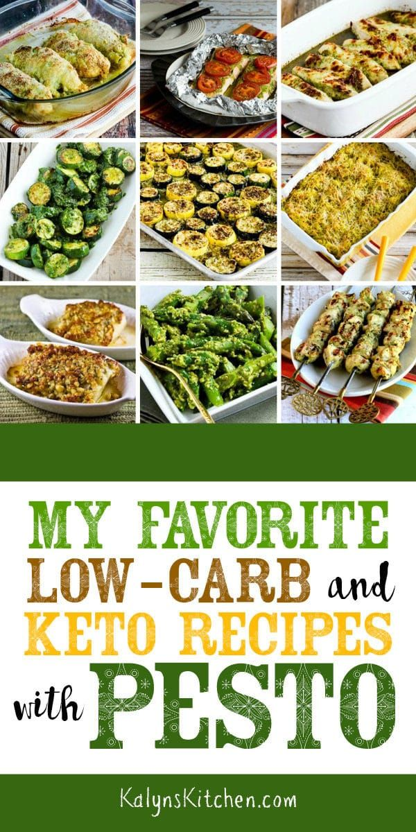 My Favorite Low Carb And Keto Recipes With Pesto Recipes Using