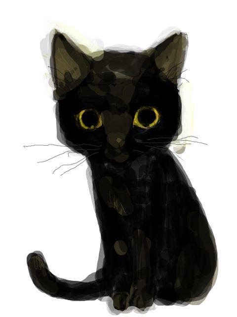 あぶくねこさんのイラスト 「生物-動物-ネコ-ねこ-猫」