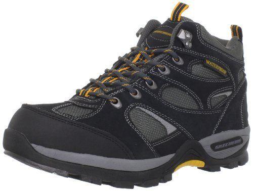 Skechers Men's Bomags Calder Lace-up Boot,Black,12 M US - http://authenticboots.com/skechers-mens-bomags-calder-lace-up-bootblack12-m-us/