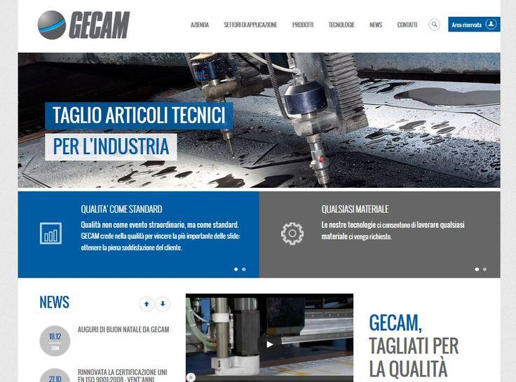Nuovo sito online! www.gecam-srl.it #web #seo #smm