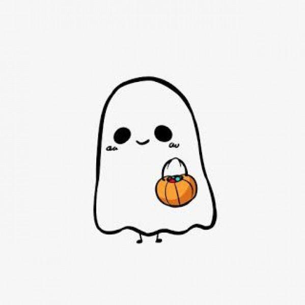 Auto Maquiando Vamos Falar De Halloween Halloween Halloween Drawings Kawaii Halloween Halloween Illustration Geister Bilder