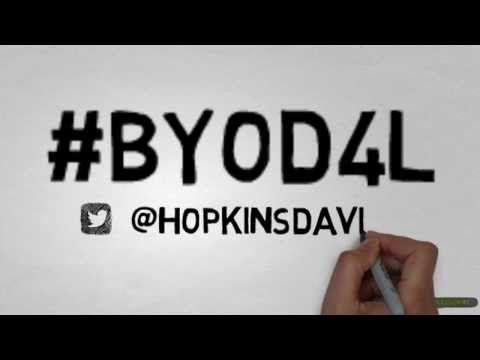 BYOD4L  - An animated journey through #BYOD4L course