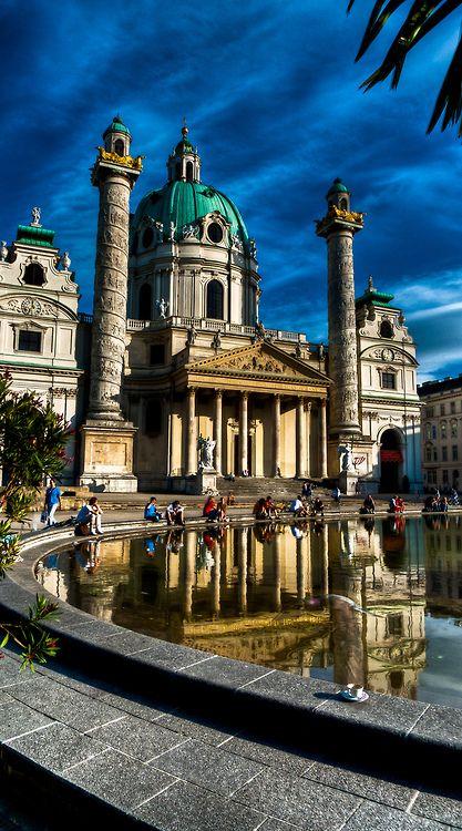Karlskirche - Vienna - Austria (von franzj)