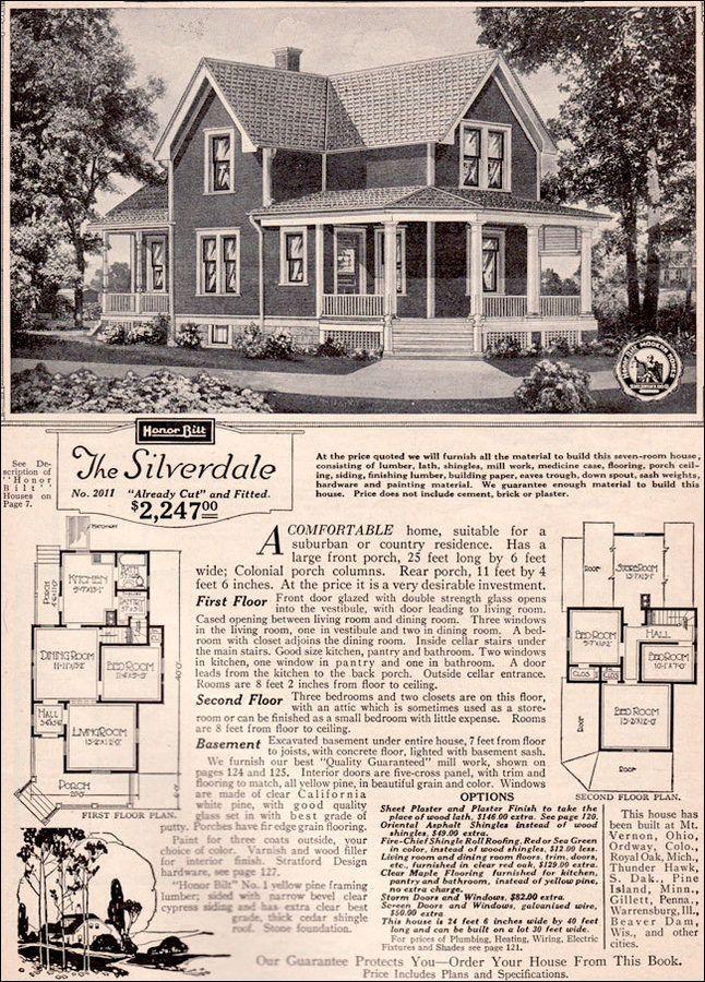 Sears Roebuck Kit House Venice Asking Million Homes Plans Farmhouse