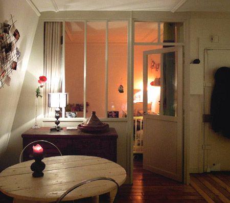 Les 72 meilleures images propos de interior glass wall for Amenager chambre sans fenetre