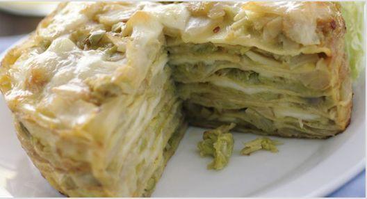 La ricetta del tortino di crepes mozzarella e verdure   Ultime Notizie Flash