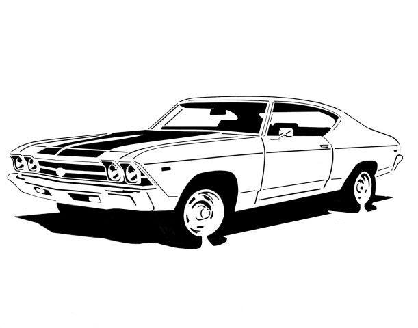 1969 chevelle ss  u0026quot 396 u0026quot  - transportation