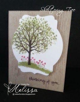 RubberFUNatics: Woodgrain Tree