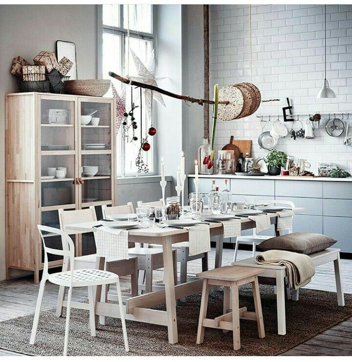 ikea table norr ker home pinterest k chen ideen esszimmer und k che. Black Bedroom Furniture Sets. Home Design Ideas
