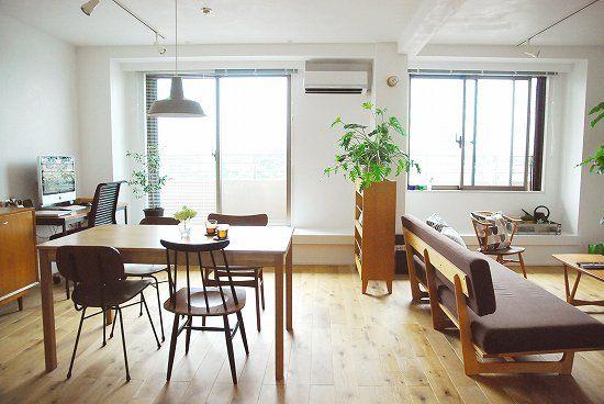 特集│バイヤー安田の、新しい家と暮らし。1『じっくりと選ばれたモノが並ぶリビングダイニング』 – 北欧雑貨と北欧食器の通販サイト | 北欧、暮らしの道具店