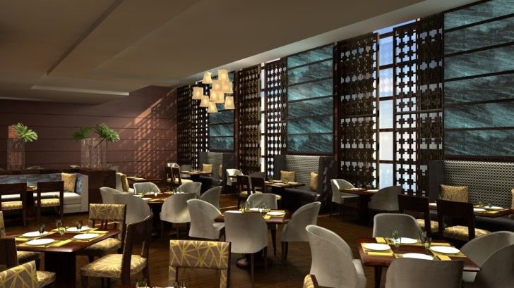 Hotel HD Wallpapers: Hotel Restaurant Interior Modern ~ celwall.com Cool Wallpapers Inspiration