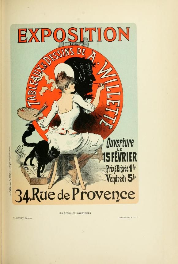 Les affiches illustrées (1886-1895) Ouvrage orn...