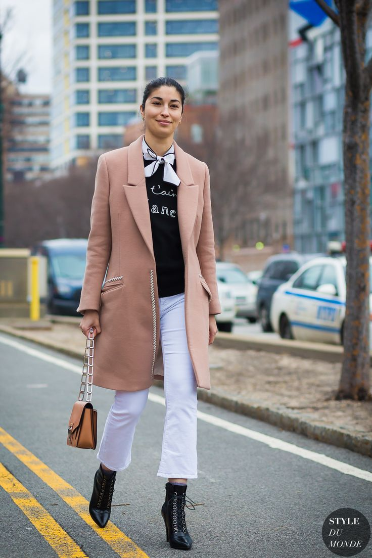 New York Fashion Week FW 2016 Street Style: Caroline Issa