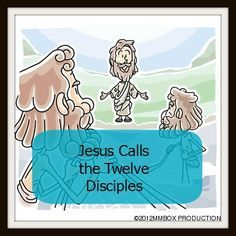 Jesus Calls the Twelve Disciples ~ Object Lesson (Hand Motions) teaches children the story of the calling of the twelve and hand motions to help remember their names. ~ futureflyingsaucers.com