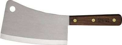 Butchering Knives and Tools 178084: Victorinox Knives Vn40091 Stainless Cleaver 7 Cutting Edge Brown Wood Handles -> BUY IT NOW ONLY: $37.18 on eBay!