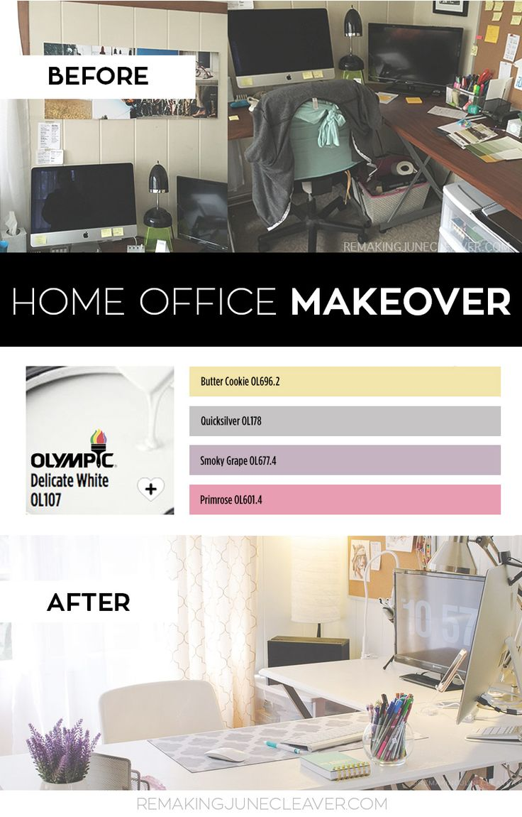 After years of working in a dark office, Kenda—from the popular blog, Remaking June—decided it was time for a makeover. So, she trusted the Olympic® Paint Visualizer and Olympic® Color Center to help her plan a new color scheme for the workspace. With white as a base, Kenda brightened the walls around her desk and created a new photography studio. But that's not all: find out how she used other colors to bring some fun into what used to be a plain and ordinary room.