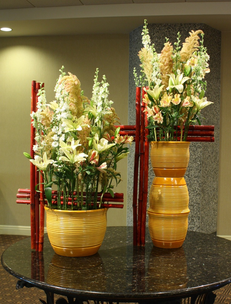 """Nj Bamboo Landscaping: """"Bamboo Garden"""" Traditional Arrangements Take On An Asian"""