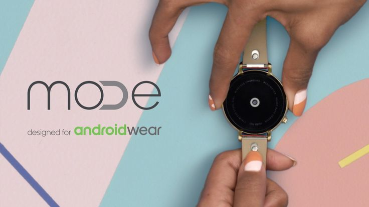 MODE watch bands designed for Android Wear