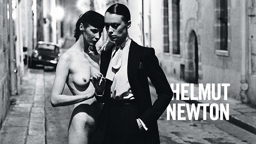Chouette video, expo Helmut Newton au Grand Palais