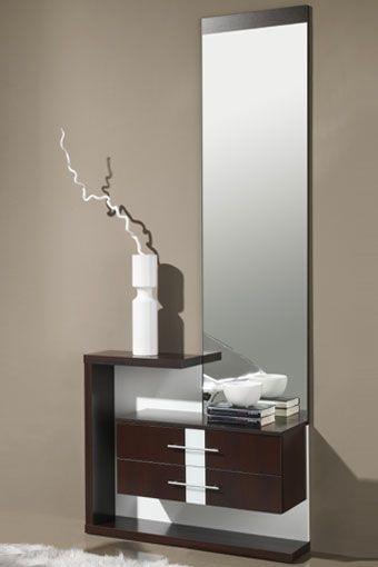 decore la entrada a su hogar y ponga un toque de color con este fantstico mueble auxiliar compuesto por espejo y dos cajones disponible en las siguientes