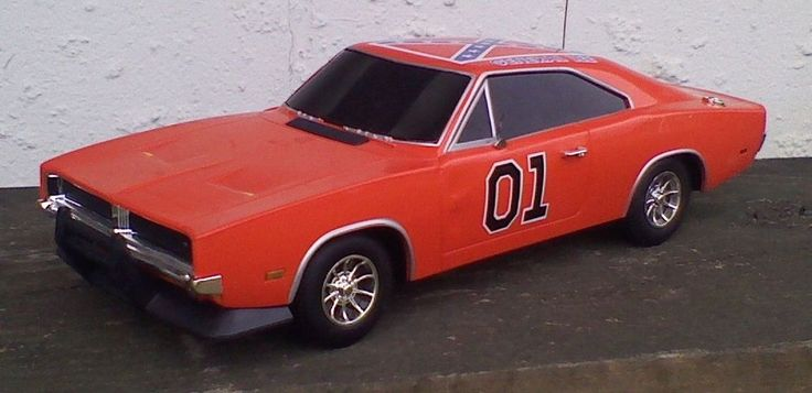 General Lee Rc 1969 Charger Car 1 10 Malibu International Dukes Of