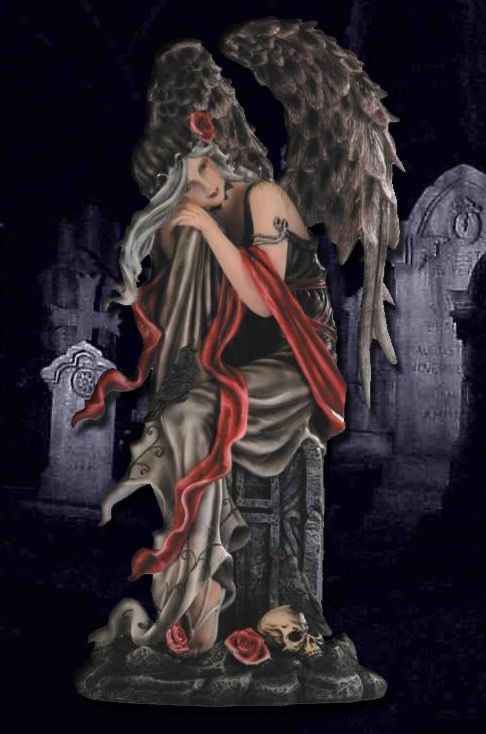 angel of gothic tombstone - photo #30