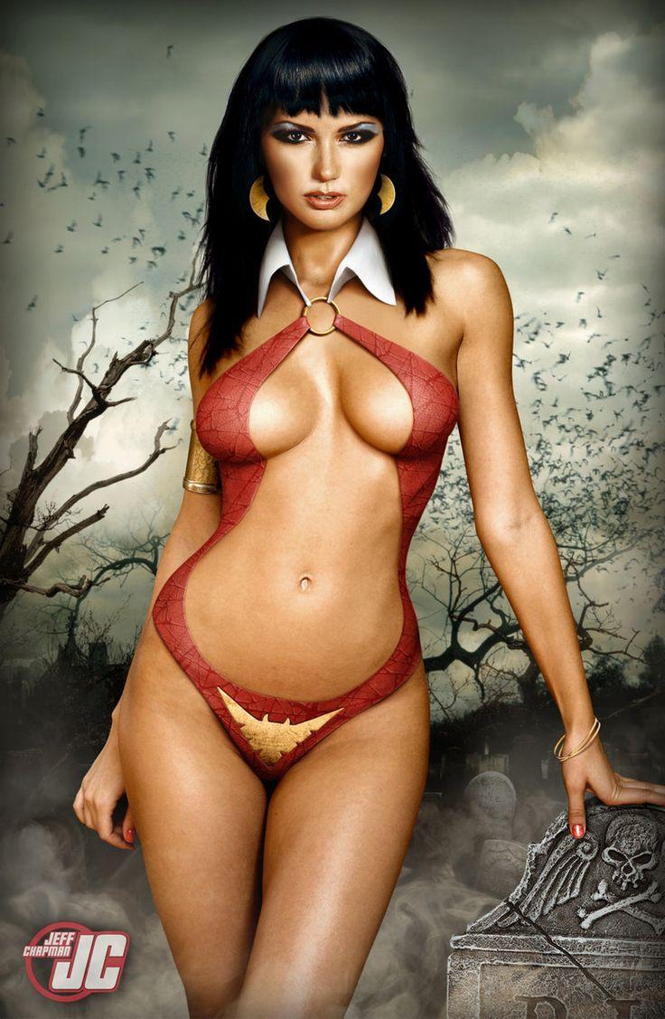 Vampirella by Jeffach.deviantart.com on @deviantART