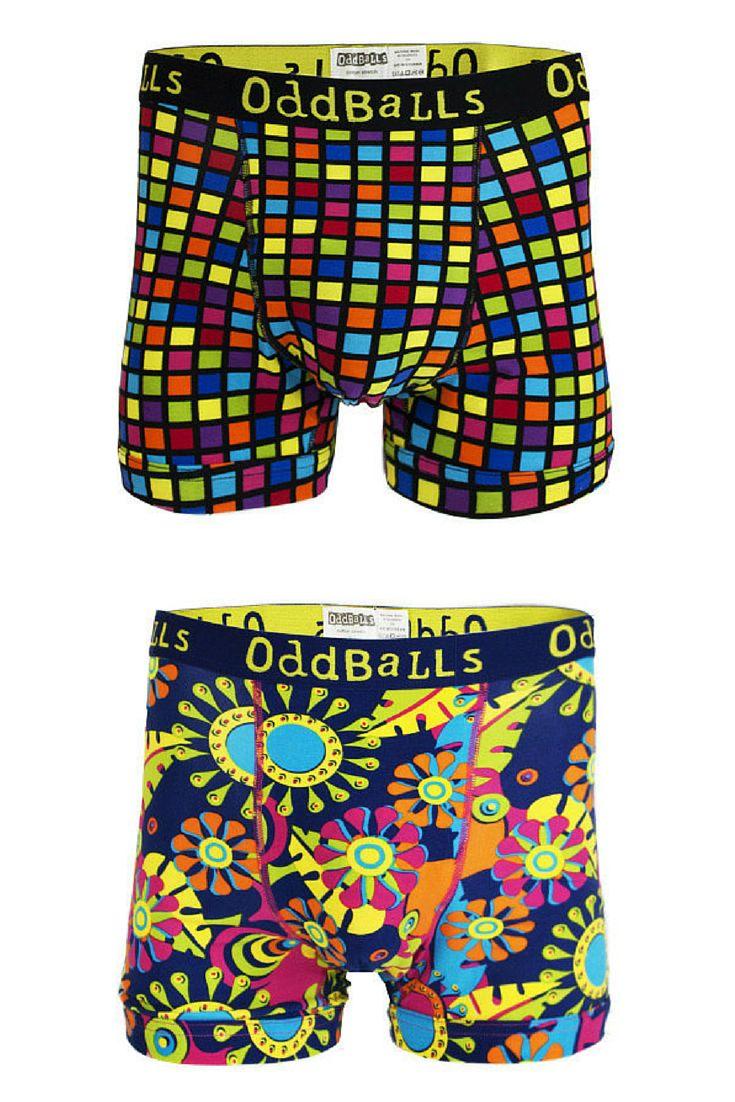 hratsky.com - męska bielizna - Bokserki Oddballs Carnival/Disco.