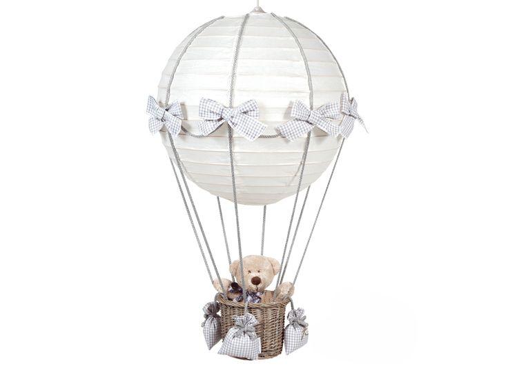 Luftballonglampa, grå - Bonti