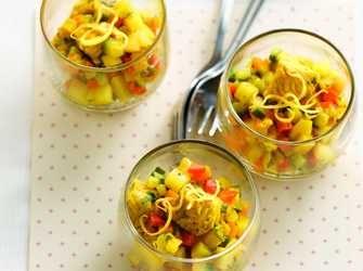 Recepten - Aardappelcouscous met groenten en kalkoen