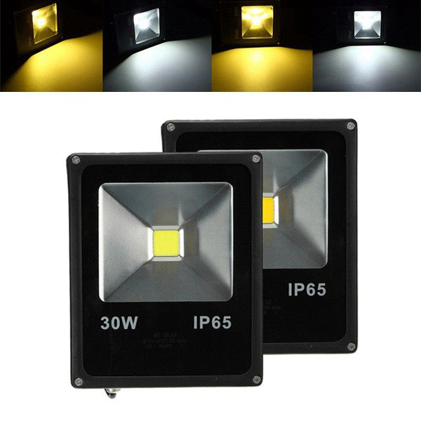 30w Waterproof Ip65 White Warm White Led Flood Light Outdoor Garden Security Lamp With Images Led Flood Led Flood Lights Flood Lights