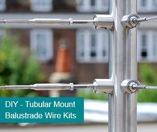 Wire Balustrade Kits and Cable Systems. Stainless Steel Wire Balustrade. | S3i Group