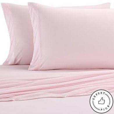 Dorm Pure Beech Jersey Knit Modal Twin XL Sheet Set In Light Pink
