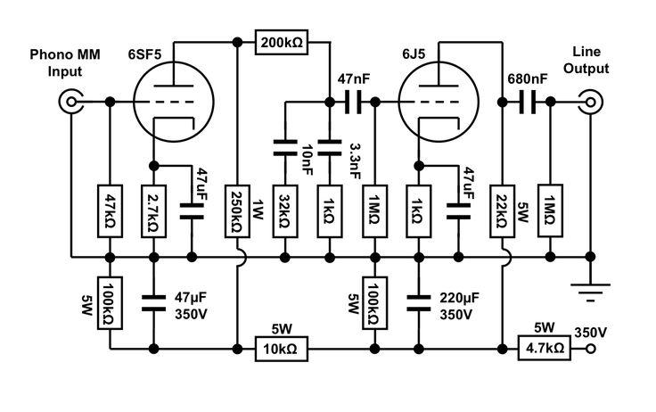 12SL7 SRPP KT88 PushPull Tube Amp Schematic – Lma-a Wiring-diagram