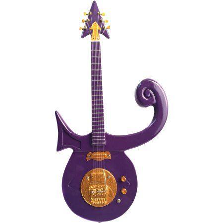 Axe Heaven Prince Purple Symbol Mini Guitar Replica Collectible