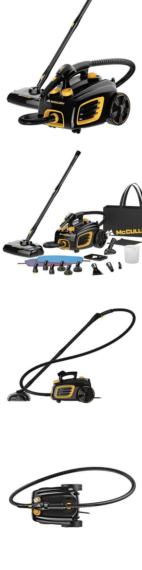 Carpet Steamers 79656: Mcculloch Mc1375 Canister Steam Cleaner (Free Ship ...) -> BUY IT NOW ONLY: $120 on eBay!