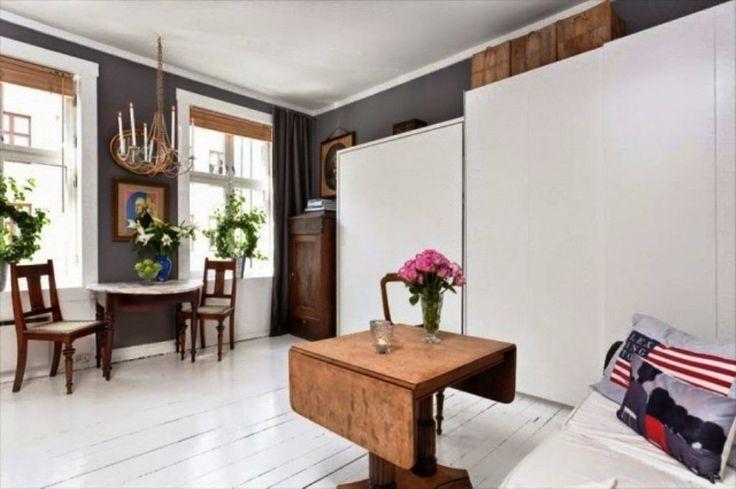Ένα διαμέρισμα μόλις 29 τ.μ. Που συνδυάζει το μίνιμαλ με το rustic.
